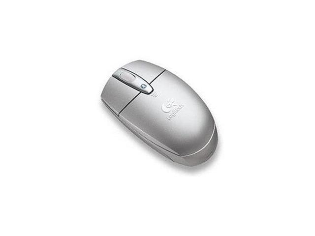 Logitech V270 Optical Cordless Notebook Mouse - Silver - 931603-0403