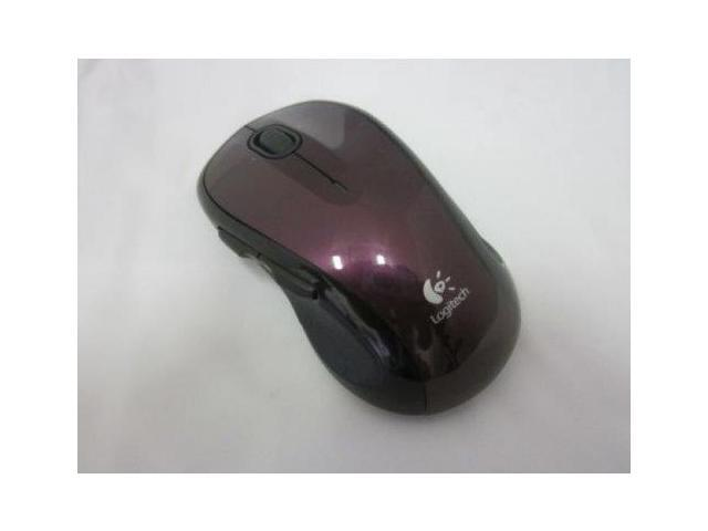 Logitech M510 Wireless Mouse (Wine Red)