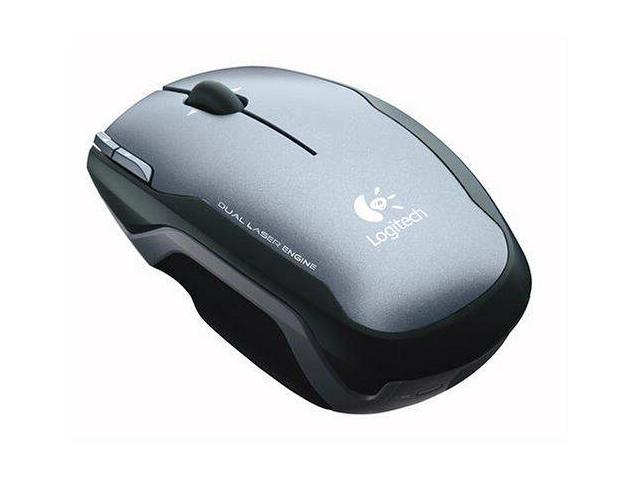 Logitech V400 Laser Cordless Notebook Mouse- Grey