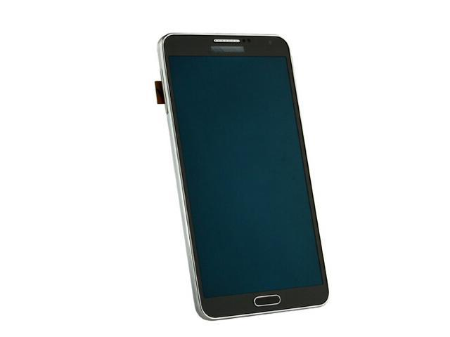 New OEM Samsung Galaxy Note 3 BLACK LCD Assembly (With Frame) For CDMA Models Verizon N900V || Sprint N900S || US Cellular N900U