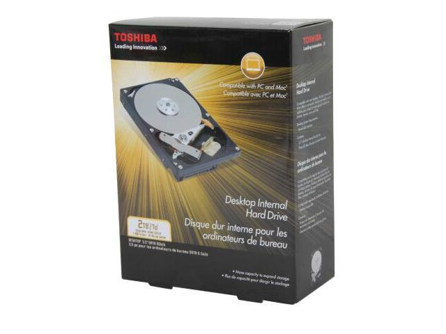 Toshiba Desktop 7200 2.0TB 7200RPM SATA 6Gb/s NCQ 64MB Cache 3.5-Inch Internal Bare Drive PH3200U-1I72
