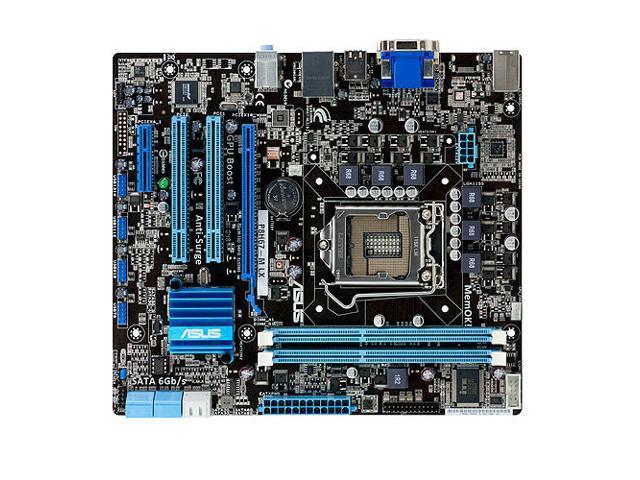 ASUS P8H67-M LX (REV 3.0) LGA 1155 Intel H67 SATA 6Gb/s Micro ATX Intel Motherboard