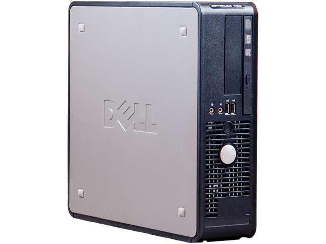 Dell Optiplex 780 SFF, Intel Core 2 Duo E7500 2.93GHz, 4GB RAM, 160GB HDD, DVD-ROM, Win 7 Professional 64-Bit