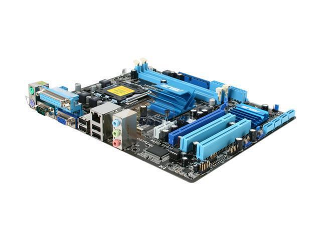 ASUS P5G41T-M LX LGA 775 Intel G41 Micro ATX Intel Motherboard