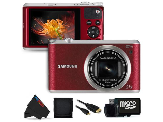 Samsung WB350F 16.2MP CMOS Smart WiFi & NFC Digital Camera with 21x Optical Zoom and 3.0