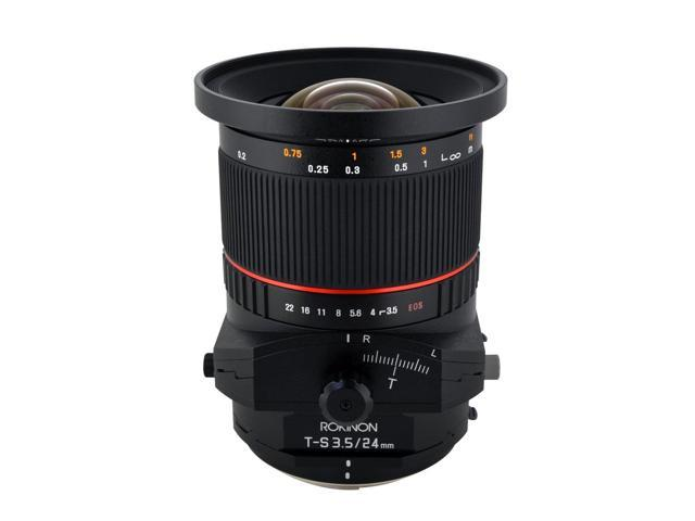 Rokinon TSL24M-O 24mm f/3.5 Tilt Shift Lens for Olympus/Panasonic Standard 4/3 Cameras