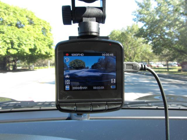 Small LCD Screen 1080p HD Car DVR Vehicle Video Camcorder HDMI Output