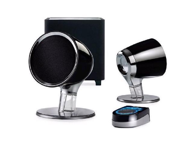 Hercules XPS 101 2.1 Multimedia Speakers - Black