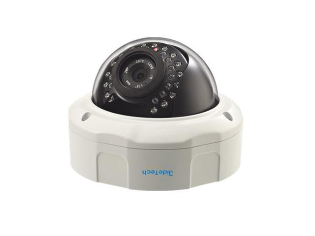 JideTech HD 1080P Onvif Mobile View P2P Day and Night Waterproof POE Wired Surveillance Camera