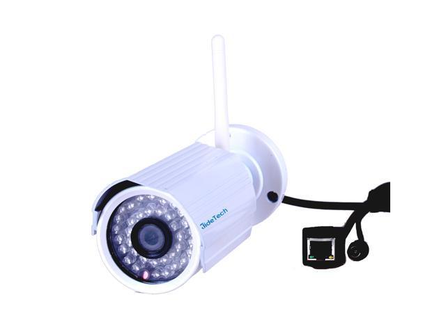 JideTech 1080P HD 2MP Wired Wireless P2P Mini Bullet IR 15M Onvif Wifi Security Camera