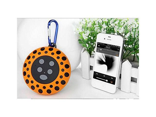 Portable Outdoor Sports IPX4 Wireless Bluetooth Speaker Waterproof For Four Bathroom Stereo Bluetooth Shower Speakers with Microphone Hands-free ...