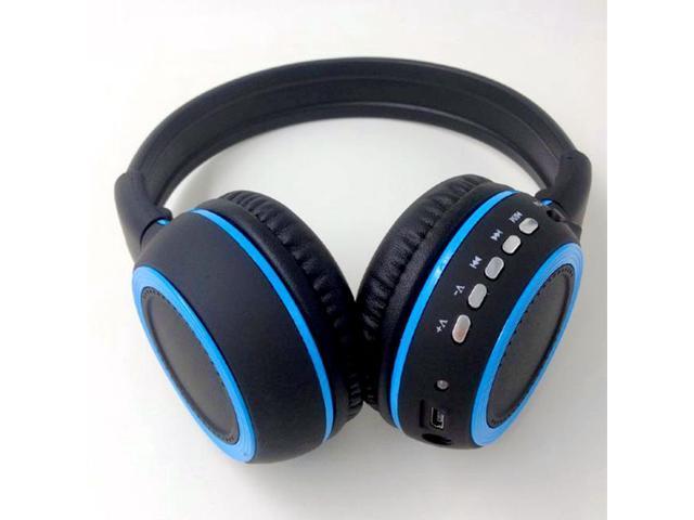 Wireless Bluetooth Headphones Earphone Stereo Foldable Handsfree Headset FM Radio with Mic Microphone Touch Pannel Bluetooth Stereo Headset for ...