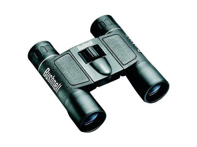 Bushnell 132516 Powerview Binoculars 10x25 Fully-Coated Optics Weather Resistant