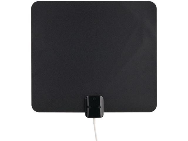 RCA ANT1150F Amplified Indoor HDTV Antenna Ultrathin White or Black