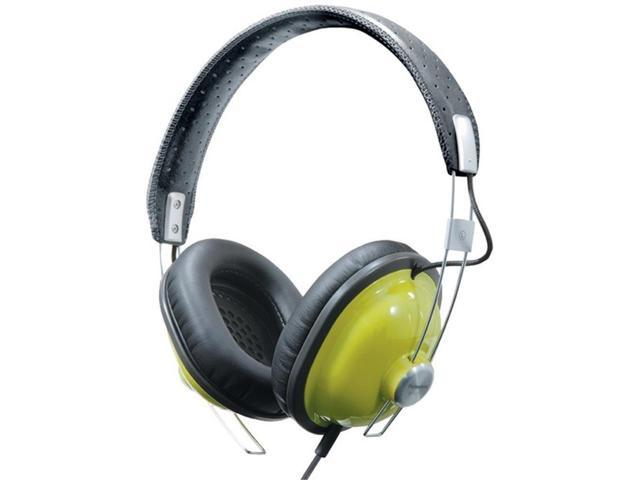 Panasonic HTX7 Retro Monitor Stereo Headphones Green