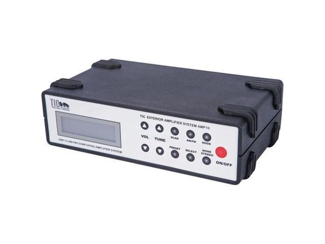 TIC AMP10 Waterproof Stereo Receiver Amp Exterior Outdoor Black