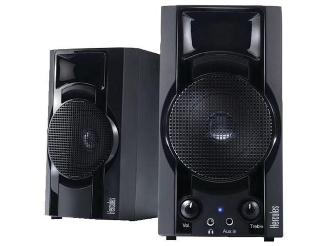 Hercules 4769225 30 DJ Club Speaker System XPS 2.0 System - Black