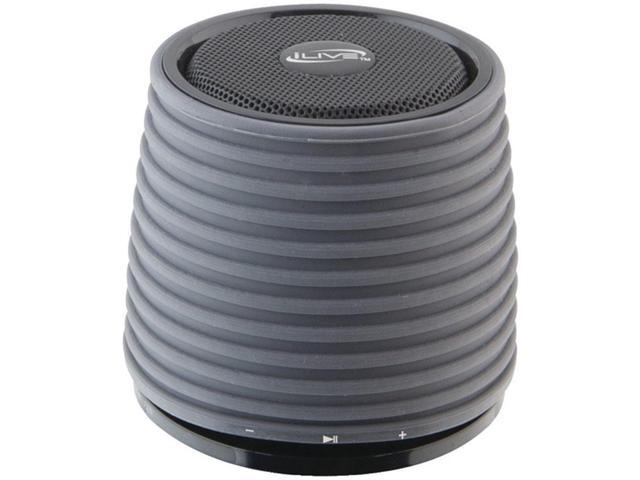 iLive ISB212B Wireless Bluetooth Speaker USB Chargeable Black W/ Built-in Amp