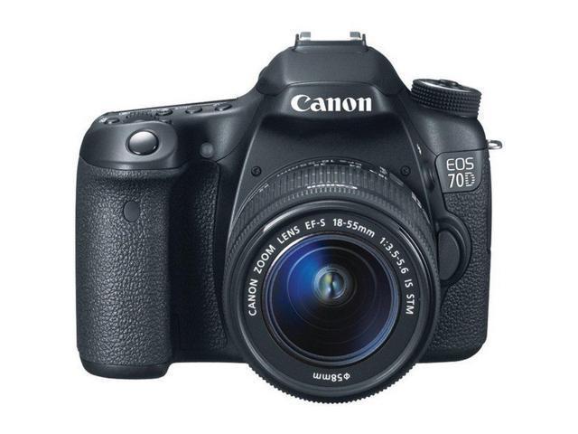Canon 8469B002 EOS 70D Digital SLR Camera - 20.2MP - No Lens