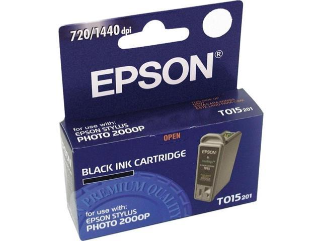 Epson T015201 Ink Cartridge Black Single - Inkjet For Stylus Photo 2000