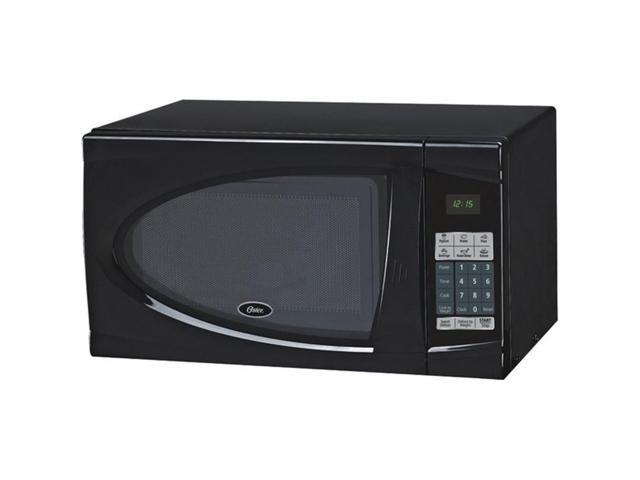 Oster AM930B Countertop Microwave Black .9 Cu ft 900W W/Child Safety Lock