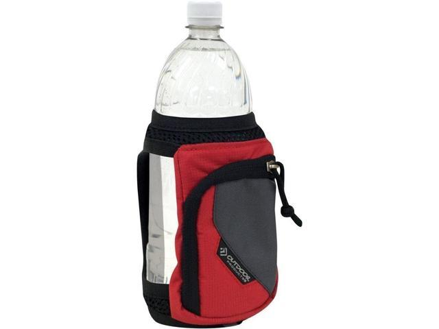 Outdoor Products 1145OPC006 21oz Bottle Carrying Case H2O Stride - Red