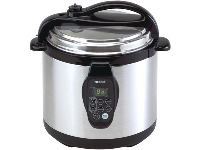 Nesco PC6-25 6-Quart Digital Electric Pressure Cooker - Stainless Steel