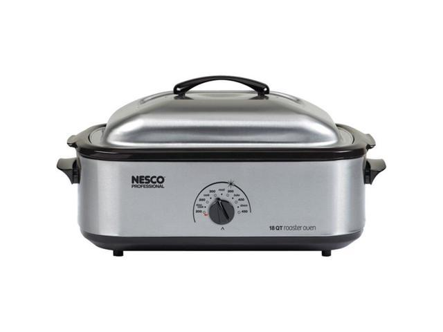 Nesco 4818-25PR 18-Quart Roaster Oven - Stainless Steel
