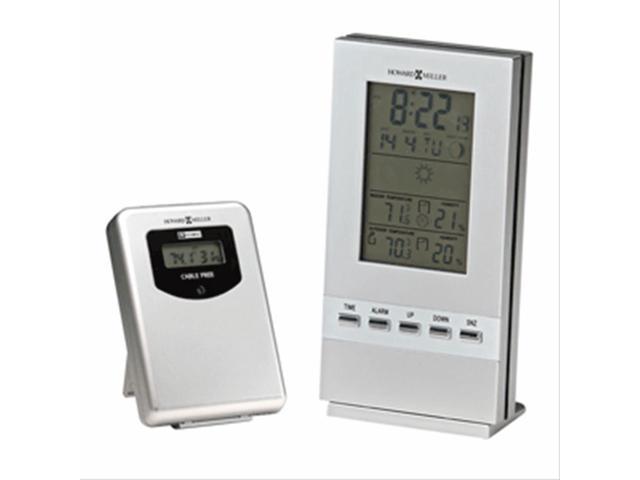 Howard Miller 645-697 Weather Sentinel W/LCD Tabletop Alarm Clock Display