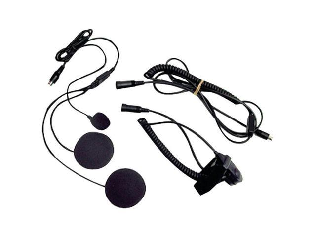 Midland AVPH2 Closed-Face Helmet Headset Speaker & Microphone System