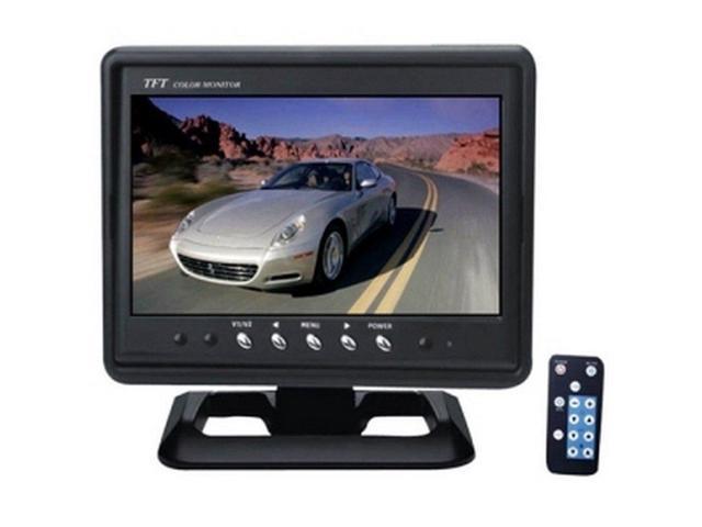 Pyle PLHR79 7 LCD Display - Car Headrest Mountable - Black
