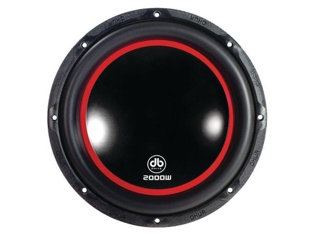 DB Drive K910D4 New Black & Red Okur Series 10 Dual 4O Subwoofer