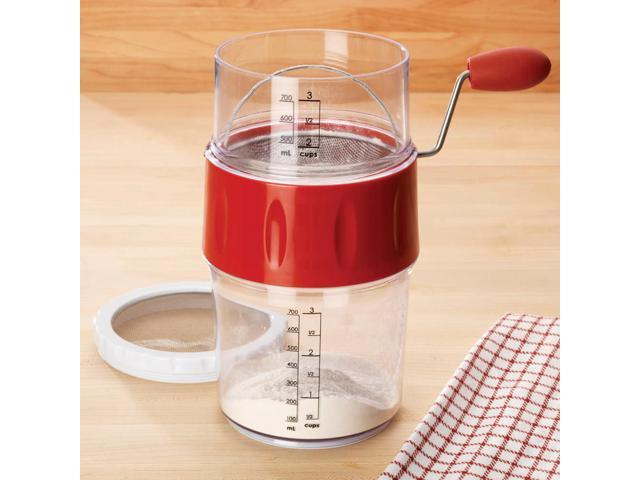 Progressive 3-Cup Measuring Flour Sifter