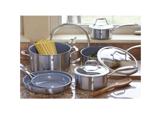 Zwilling J.A. Henckels Sol Ceraforce Cookware Set, 10-piece