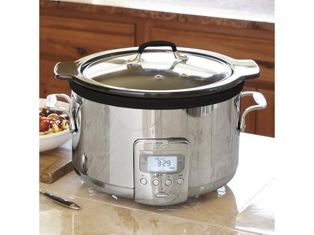 All-Clad Slow Cooker with Ceramic Insert, 4-quart