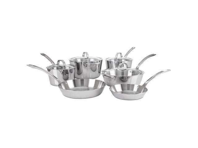 Viking Contemporary Cookware Set, 10-Piece