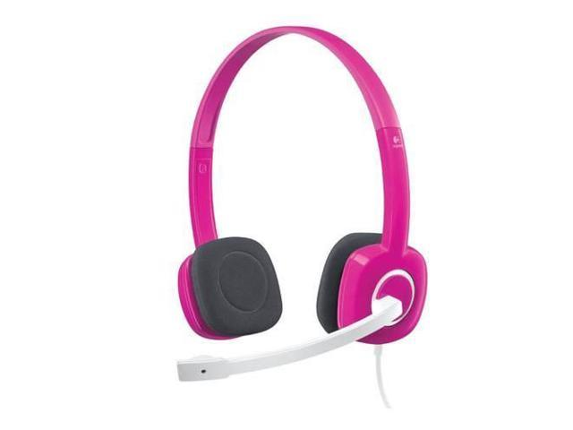 Logitech H150 Stereo Headset, Pink