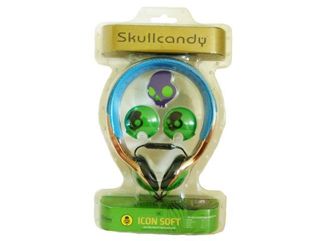 Icon Soft Mic'd Over Ear Headphones in Electric Animal by SkullCandy