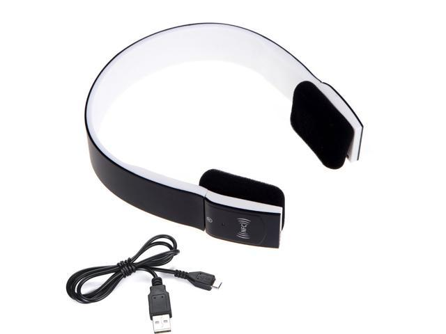Hot NFC Bluetooth 3.0 EDR 2CH Stero Headphone with Mic iPhone Smartphone BH-2S