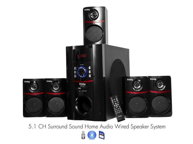 Frisby FS5010BT 800Watt Bluetooth 5.1 Home Theater Speaker System w/ USB SD
