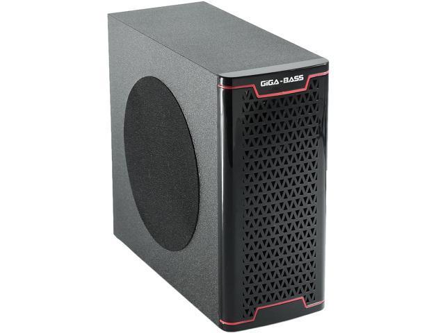 Rechargeable PC Speakers Computer Desktop Laptop USB 2.1 Amplified w/ USB SD MMC