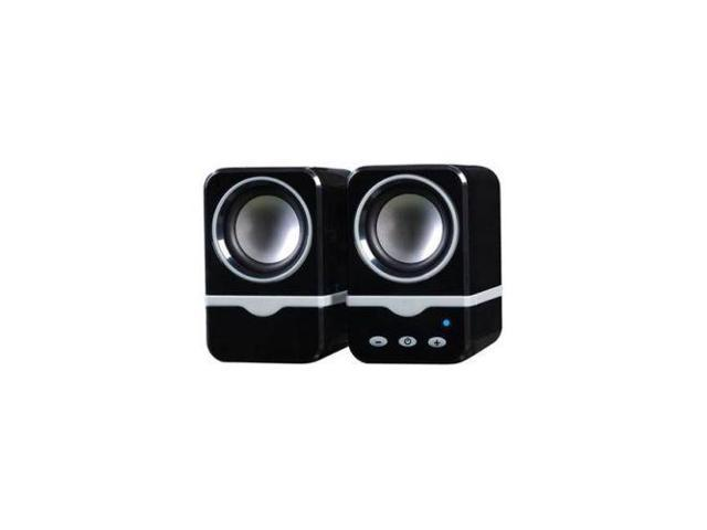 New Bluetooth Digital Speakers Black for PC Notebook MP3 iPad iPhone