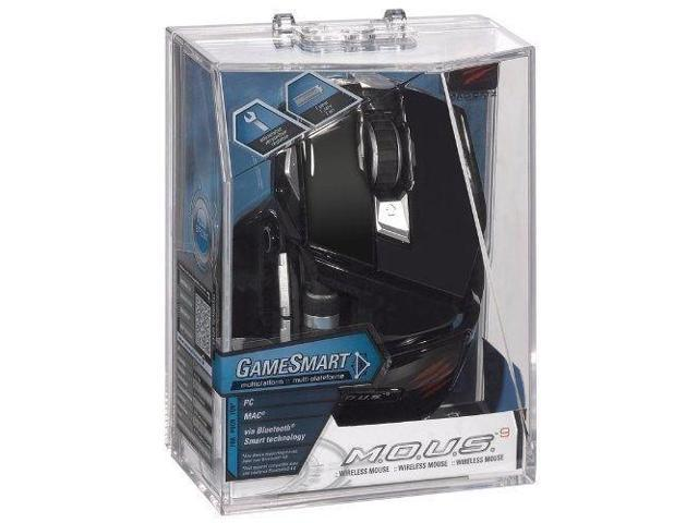 Mad Catz M.O.U.S. 9 Wireless Gaming Mouse for PC and Mac - Gloss Black