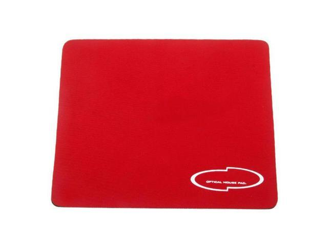 NEW Red Mice Pad Mat Mousepad for Optical Mouse