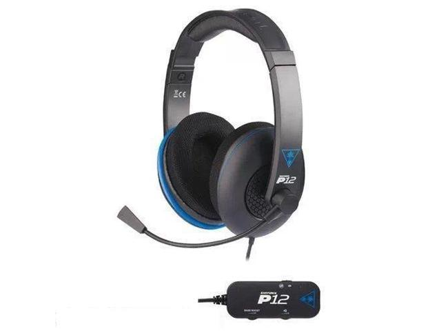Turtle Beach Ear Force P12 Amplified Stereo Gaming Headset for PlayStation 4 NEW