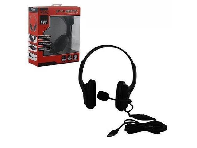 Komodo Live Pro Gamer Headset With Mic For PS3 Playstation 3 NEW