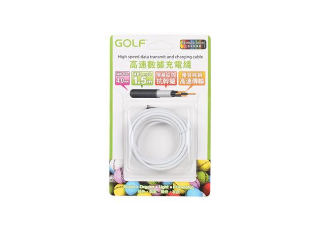 1.5M 5FT Golf 8 Pin High Speed USB Data Sync Charger Cable Lightning Charging Cord For iPhone 5 5S 5C 6 6Plus iPod iPad Mini ...