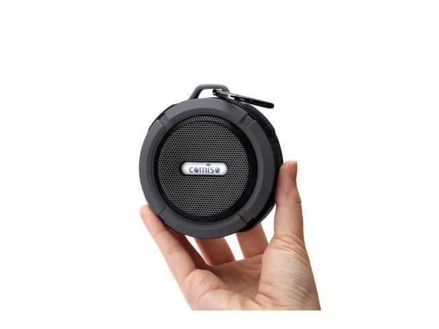 C6 Mini Waterproof Shockproof Wireless Bluetooth Speaker For iPod iPhone 6 6Plus Samsung HTC Blackberry Smart Phone Call Black