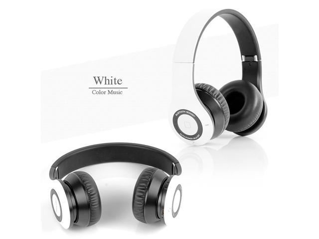 Bluedio B2 Rechargeable Bluetooth V4.0 Headset Wireless Foldable Headphone - White