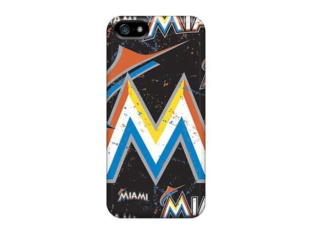 High Impact Dirt/shock Proof Case Cover For Iphone 6 plus (miami Marlins)